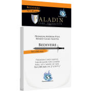 Paladin Sleeves - Bedivere Premium Medium Plus 54x80mm (55 Sleeves)