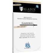Paladin Sleeves - Gaheris Premium Specialist B 80x120mm (55 Sleeves)