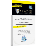 Paladin Sleeves - Galahad Premium Mini American 41x63mm (55 Sleeves)