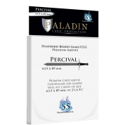 Paladin Sleeves - Percival Premium Standard Board Game/CCG 63.5x89mm (55 Sleeves)