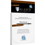 Paladin Sleeves - Ragnar Premium American Special 54x86mm (55 Sleeves)