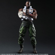 Final Fantasy Vii Advent Children Play Arts Kai -Barret-
