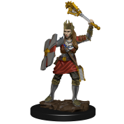 D&D Icons of the Realms Premium Figures: Human Cleric Female (6 Units)