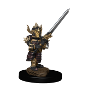 D&D Icons of the Realms Premium Figures: Halfling Fighter Male (6 Units)