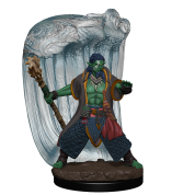 D&D Icons of the Realms Premium Figures: Water Genasi Druid Male (6 Units)