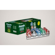 Piatnik Poker Set 100 High Gloss Chips