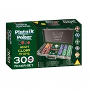 Piatnik Poker Set 300 High Gloss Chips