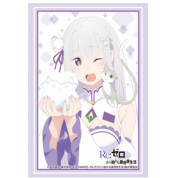 "Bushiroad Sleeve Collection HG Vol.2875 Re:Zero to Start Otherworldly Life: The Bond of Ice ""Emilia"" (75 Sleeves)"