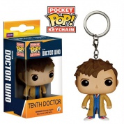 Funko Pocket POP! Keychain - Doctor Who 10th Doctor Vinyl Figure 4cm
