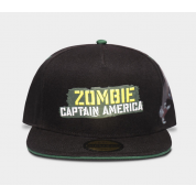 Marvel - What If...? - Zombie Captain America Snapback Cap