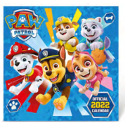 Danilo Calendar - PAW PATROL 2022 SQUARE CALENDAR WITH STICKERS