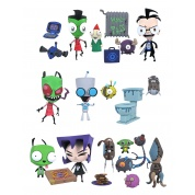 Invader Zim Series 1 Action Figure Asst (6)