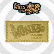 Willy Wonka Golden Ticket Limited Edition Collectible