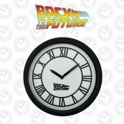 Back To The Future Hill Valley Wall Clock