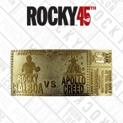 Rocky 45th Anniversary 24K Gold Plated Limited Edition Fight Ticket