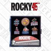 Rocky Limited Edition 6 Pack of Pins