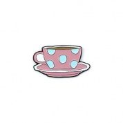 Friends - Coffee cup Pin Badge