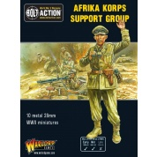 Bolt Action 2 Afrika Korps Support Group (HQ, Mortar & MMG) - EN