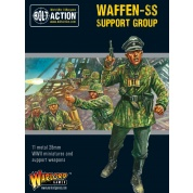 Bolt Action 2 Waffen-SS Support Group (HQ, Mortar & MMG) - EN
