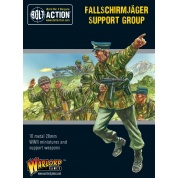 Bolt Action 2 Fallschirmjäger Support Group (HQ, Mortar & MMG) - EN