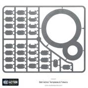 Bolt Action 2 Bolt Action Templates - EN