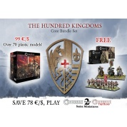 Conquest: Core Box with Militia and Household Knights Bundle - IT