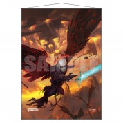 UP - Wall Scroll - Baldur's Gate Descent Into Avernus - Dungeons & Dragons Cover Series