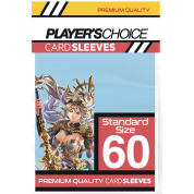 Player's Choice Premium Standard Sized Card Sleeves - Powder Blue (60 Sleeves)
