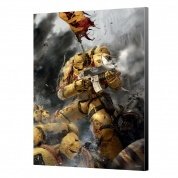 Imperial Fist Wood Panel - Warhammer 40K