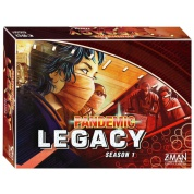 Pandemic: Legacy - Season 1 (Red Version) - EN