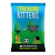 Exploding Kittens - Streaking Kittens (12er-Display) - DE