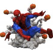 Marvel Comic Gallery : Spider-Man Pumpkin Bombs PVC Diorama