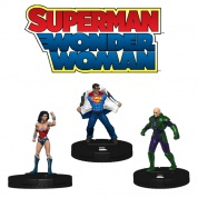DC HeroClix: Superman/Wonder Woman Booster Brick (10 Packs)