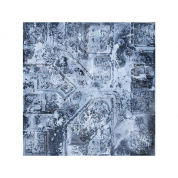 Kraken Wargames Gaming Mat - Winter Warzone City 4x4 2.0