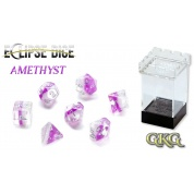 Eclipse Dice Amethyst (7 Dice Set)