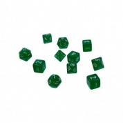 UP - Eclipse 11 Dice Set: Forest Green
