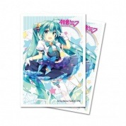 UP - Small Deck Protector Sleeves - Digital Dreamland Starlight Melody Miku (60 Sleeves)