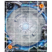 Genesis TCG: Battle of Champions - Premium Neoprene Stitched Edge Game Mat Sahas