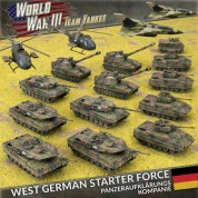 WWIII: West German Starter Force - Panzeraufklärungs Kompanie (Plastic) - EN