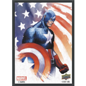 Marvel Card Sleeves - Captain America (65 Sleeves)