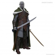 Dungeons & Dragons: Full-Sized Drizzt Foam Statue