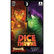 Dice Throne - Pyromantin vs. Schattendieb - DE