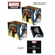 Marvel Short Comic Book Storage Box - Spider-Man, Menace?