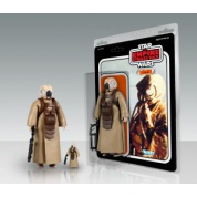 Star Wars Zuckuss Bounty Hunter Jumbo Kenner 11,5-inch action figure limited edition
