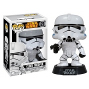 Funko POP! Star Wars - Clone Trooper Vinyl Figure Bobble Head 10cm limited Black Box