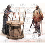 McF - The Walking Dead TV - Deluxe Box 2 - Morgan Jones and Walker /w Spike Trap