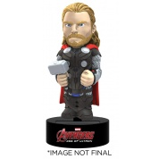 Marvel Avengers Age Of Ultron - Thor Solar Powered Body Knocker 15cm Bobble Head