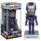 Funko Iron Man 3 The Movie - Iron Patriot Wacky Wobbler bobble Head 15cm