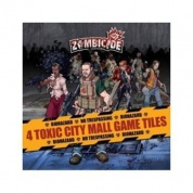 Zombicide: 4 Toxic City Mall Tile Pack - EN