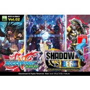 Future Card Buddyfight - Hundred Extra Booster Display 02: Shadow vs Hero (15 Packs) - EN